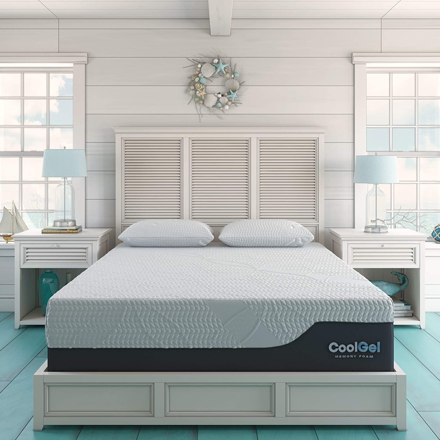10 best mattresses for back pain relief in 2021. Classic Brands Chill Memory Foam photo.
