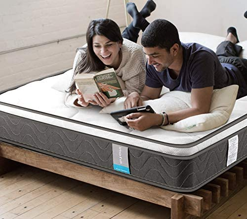 10 best mattresses for back pain in 2021. Inofia Eurotop Innerspring Mattress photo