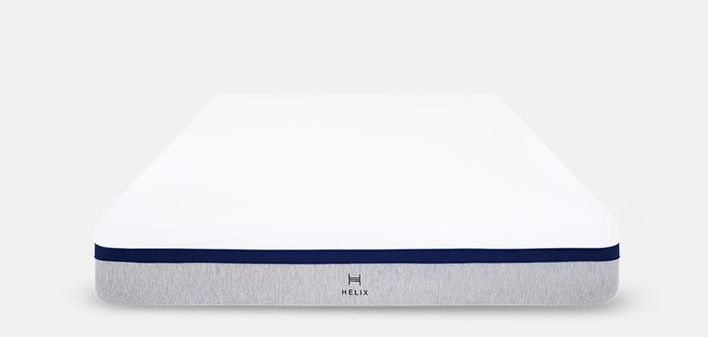 Best Mattress for Side Sleepers with back pain in 2021. Helix Midnight Mattress photo